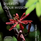 Front cover of BGBM Annual Report 2015-2016