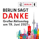 Berlin sagt Danke! Grafik
