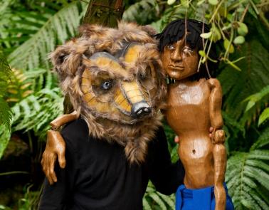 Das Dschungelbuch: Eine Theater-Safari der Drehbühne Berlin in den Tropenhäusern im Botanischen Garten Berlin. / Copyright: Robert M Berlin